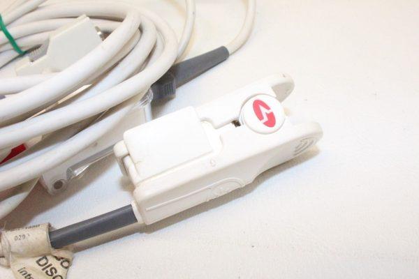 Masimo SpO2 Finger Sensor PS-10153D w Adapter Cable Head