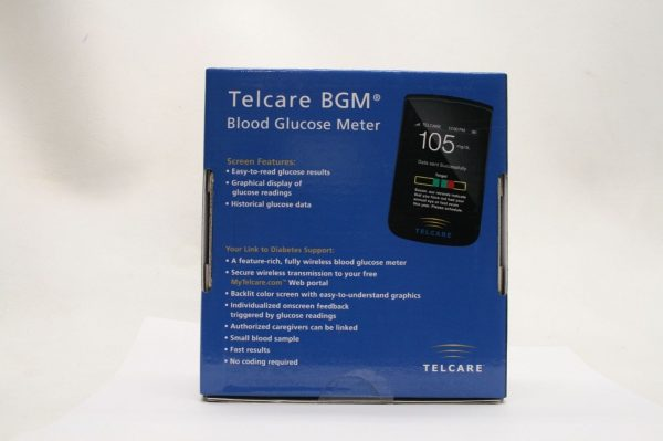 Telcare Wireless Blood Glucose Monitoring System Back