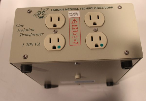 Laborie Medical Technologies Corp Line Isolation Transformer LIT 1200VA 50/60Hz