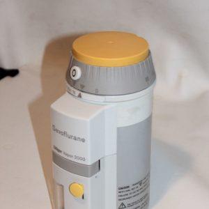 Drager sevoflurane vapor 2000 back