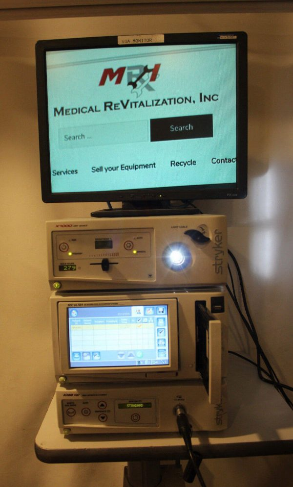 Stryker 1088 HD Laparoscopy Video Camera System with Xenon Light Source and SDC